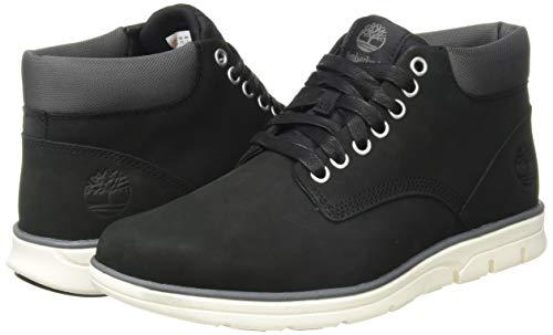 Timberland Bradstreet Leather Sensorflex, Men's Chukka Boots, Black Nubuck, 8.5 UK (43 EU)