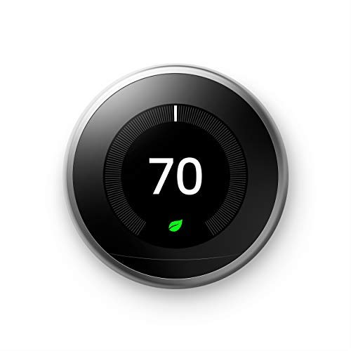Google Nest Learning Thermostat - Programmable Smart Thermostat for Home - 3rd Generation Nest...