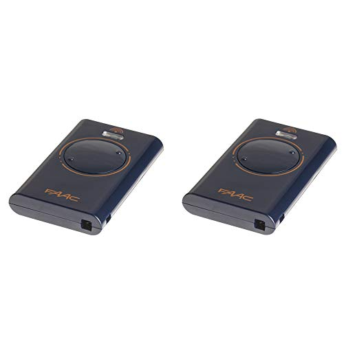 2 FAAC Handsender XT2 433 SL XT2433SL *ersetzt TML2 433 SLR 433 Mhz TML433SLR * Garagentor Fernbedienung Toröffner Funksender