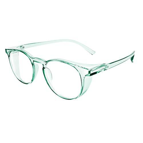 Julhold Gafas de sol polarizadas, ligeras, antiempañamiento para mujeres y hombres, con bloqueo de luz azul, lentes exteriores gradualmente tintadas protección UV, color, talla XS