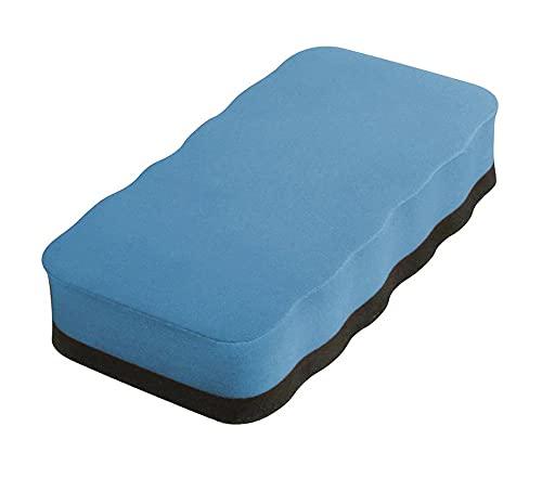 Techly 309319 Cancellino Blu per Lavagne Magnetiche Bianche Flipchart Blu