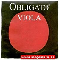 CUERDAS VIOLA - Pirastro (Obligato 421021) Medium (Juego Completo) Viola 4/4