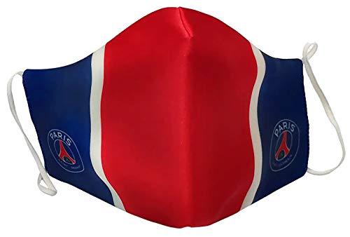 PARIS SAINT-GERMAIN 1 Masque Anti Projections Réutilisable Lavable PSG - Collection Officielle
