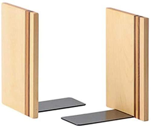 Libro decorativo Termina los soportes para el escritorio de Bookrack, Libros, Diseño de apariencia única, Wood Wood Wookend Bookends Bookends Soporte