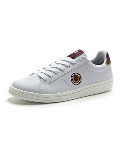 Fred Perry - Zapatos Hombre Fred Perry Leather Badge Blanca B8291 134