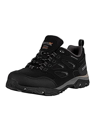 Regatta Holcombe Iep Low, Walking Shoe Mens, (Black/Granite 9v8), 10 EU