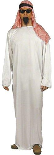 Costume Deguisement Cheikh Arabe Homme - Halloween -Taille L - 899