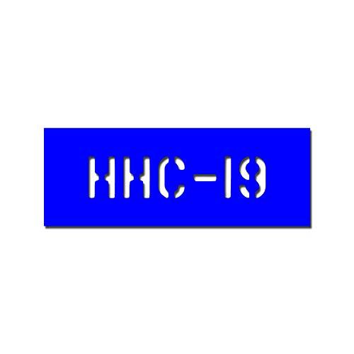 lackiersc hablonen autocollants HHC Pochoir de 19 US Army Stencil 21 x 5 cm # A4718
