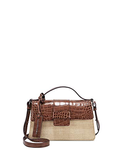 Vince Camuto womens Kali crossbody, Biscotti Multi, Small US