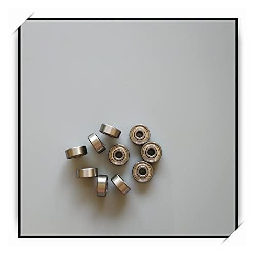liuchenmaoyi Rodamientos de la Carretilla 10pcs 3.175 x 9.525 x 3.967m MABEC-7 Rodamientos de Bolas rodamientos de Patinaje