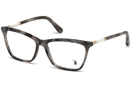 Tod's Unisex-Erwachsene TO5155 Sonnenbrille, Schwarz (Nero), 55.0