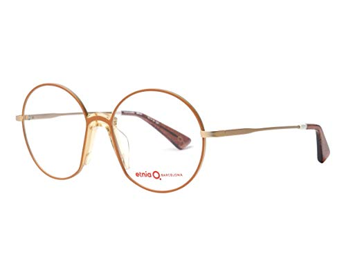 Gafas de Vista Etnia Barcelona HARAJUKU BROWN GOLD 52/16/137 unisex