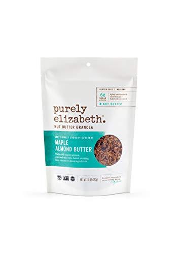 Purely Elizabeth Ancient Grain Granola, Certified Gluten-free, Vegan & Non-GMO Coconut Sugar Healthy Snack Maple + Almond Butter Nut Butter - 10oz