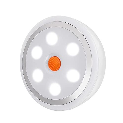 Luz Nocturna 3 unids LED regulable bajo la luz del gabinete con el control remoto con las luces del armario de la batería del control remoto para el vestuario del vestuario de la iluminación del baño