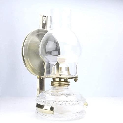 Estilo de purismo - Lámpara de aceite de keroseno de 10.25 'de altura con linterna