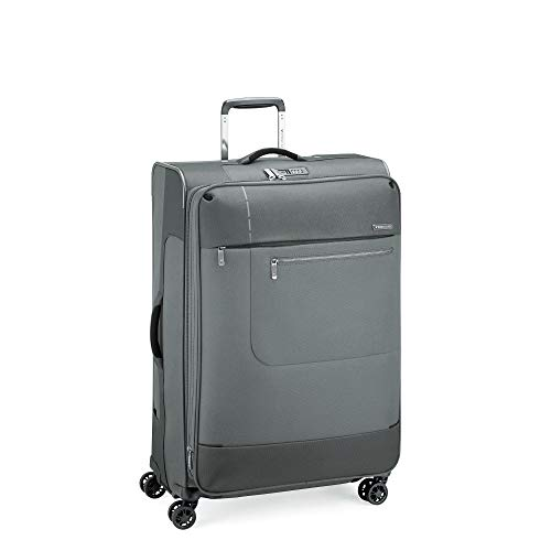 Roncato Sidetrack - Carrito grande expandible, suave, 4 ruedas, 75 x 48 x 29/32 L, 103/113, ultraligero, 2,9 kg, antracita, cierre TSA