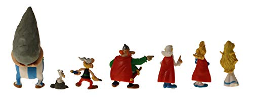 Plastoy -Asterix-Village Tube 7 Figurines 3
