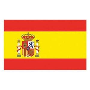 España Con Escudo Española 3 x 2 0,9 m x 0,6m Bandera Con Ojales Máxima Calidad ESPAÑOLA Fútbol: Amazon.es: Deportes y aire libre