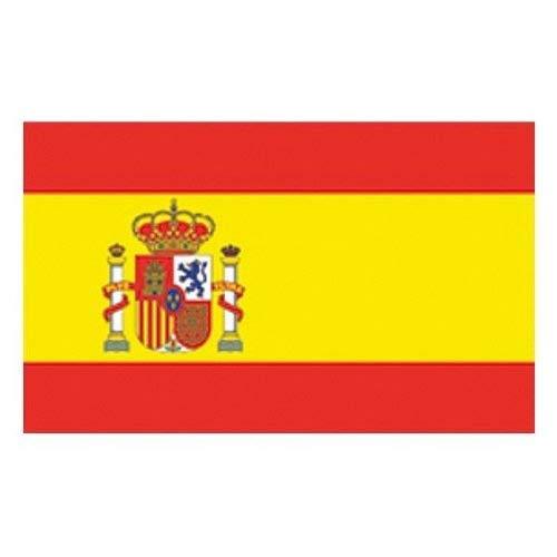 Flaggenking Bandera de King España Formato Grande: 250x 150cm–Resistente al Agua–Referencia 17521Bandera, Multicolor, 250x 150x 1cm