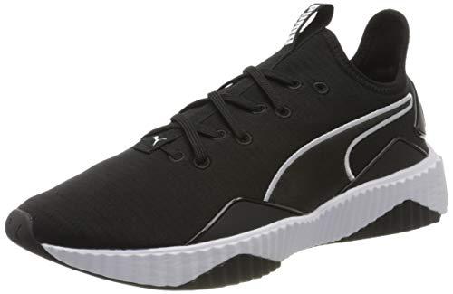PUMA Damen Defy New Core WN's Sneaker, Schwarz Black White, 39 EU