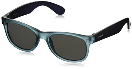 Polaroid P0115 JB N5N Gafas de sol, Azul (Bluette Royal Bl/Grey Silmir Pz), 46 Unisex Niños