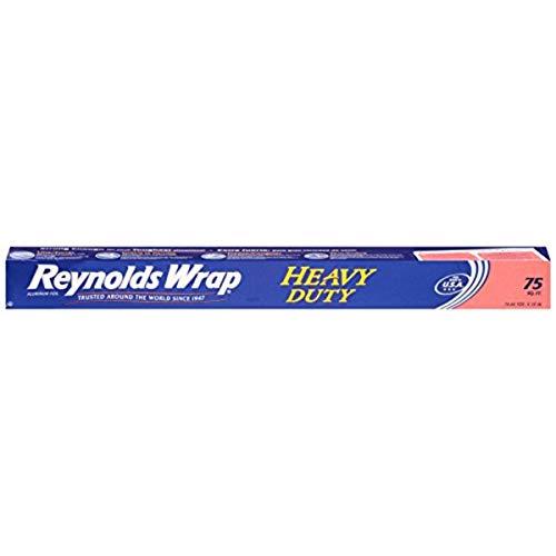 Reynolds Wrap Heavy Duty Aluminum Foil, 75 Sq Feet