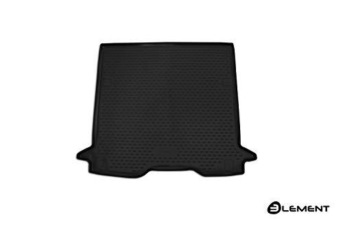 Element EXP.ELEMENT4153B14 Passgenaue Premium Antirutsch Gummi Kofferraumwanne -Dacia Dokker - Jahr: 18-20, schwarz, Passform