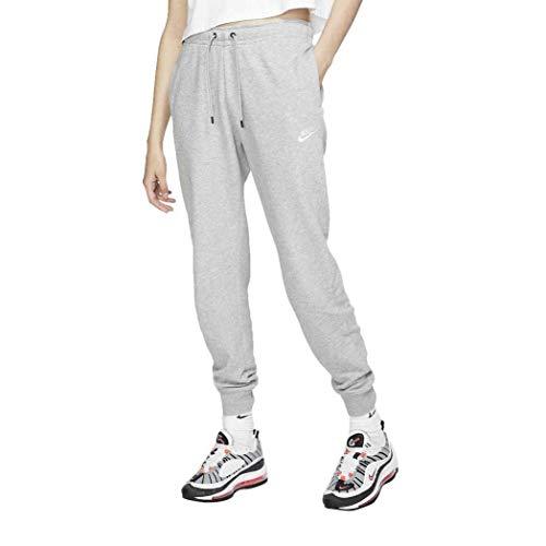 Nike Women's Sportswear Essential Jogger Pants (M, Grey/White)