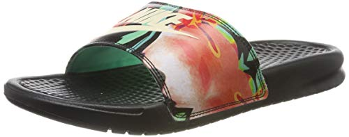 Nike Benassi Just Do It Print, Chaussures de Plage &...