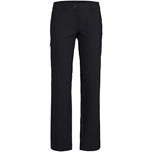 VAUDE Pantalon Turifo pour Femme. XS Noir
