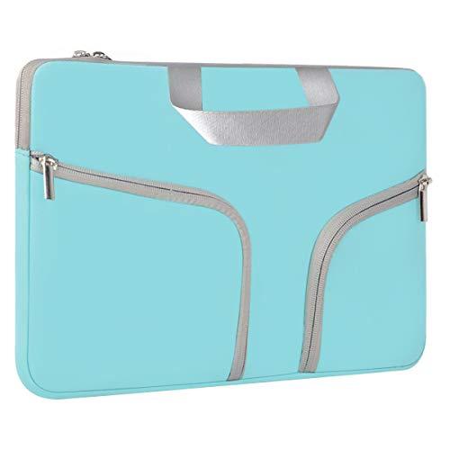 Eono Neoprene Laptop Sleeve Bag Compatible 13.3 inch MacBook Air, MacBook Pro Retina 13 inch, Surface Pro 3/4/5/6, Surface Laptop 2017 / Surface Laptop 2, Mint Green