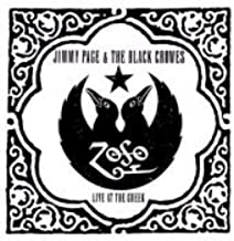 Jimmy Page Live At The Greek - With Black Crowes 2000 USA 2-CD album set TVT2140