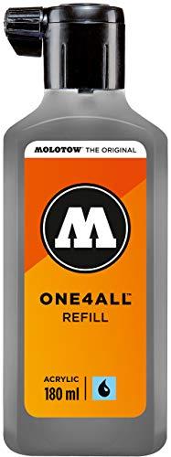 Molotow mo692238Refill one4all, recarga para marcador permanente 180ml 1pieza azul grisáceo oscuro
