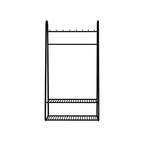 SZQ-Percheros burro Escudo de metal Rack, ropa Creatividad Vertical Rail Boutiques dormitorios de venta al consumidor moderno stand Simplicidad aterrizaje Perchas , Para el hogar / tienda de ropa