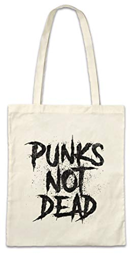 Urban Backwoods Punks Not Dead I Hipster Bag Beutel Stofftasche Einkaufstasche