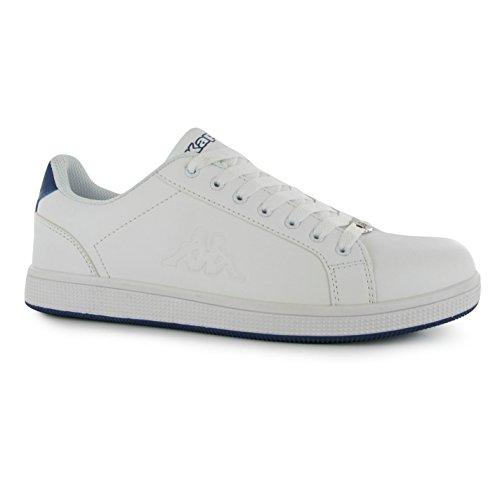 Kappa - Zapatillas de tenis para hombre, Blanco (blanco), 46 EU