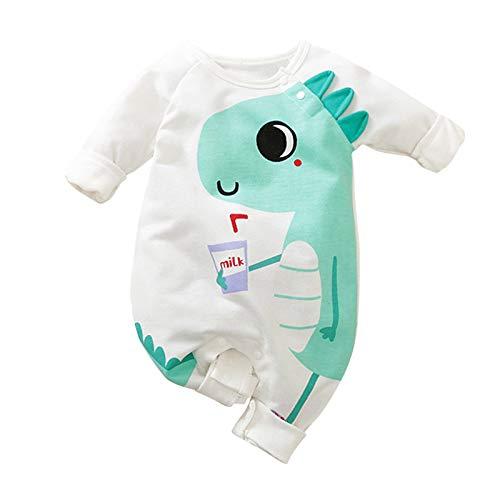 Katsaz Body Bebe Niño Recien Nacido Manga Larga Lindo Dibujos Dinosaurio Ropa Bebe Niña Mameluco Niños Niñas Mono Bebés Bautizo Bodies Infantil Fiesta Pijamas