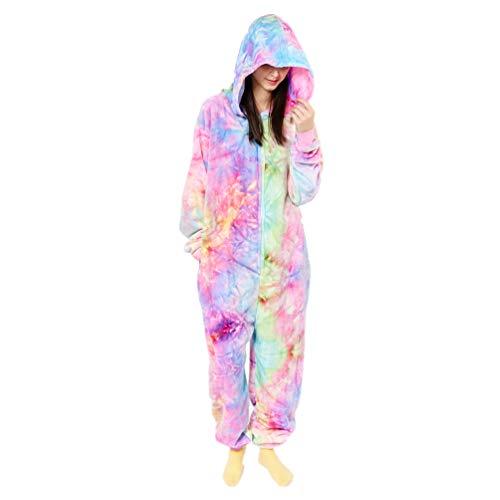 Oneise Pajamas for Women (Multi-Hot Pink, Large)