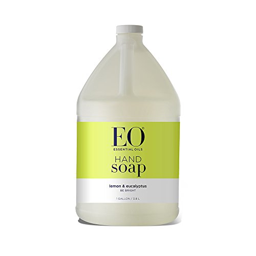 EO Hand Soap: Lemon and Eucalyptus, 128 Ounce Refill