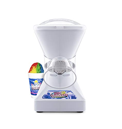 Little Snowie 2 Snow Cone Machine - Premium Shaved Ice Maker, With Powder Sticks Syrup Mix