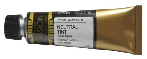 Mijello Mission Gold Water Color, 15ml, Neutral Tint