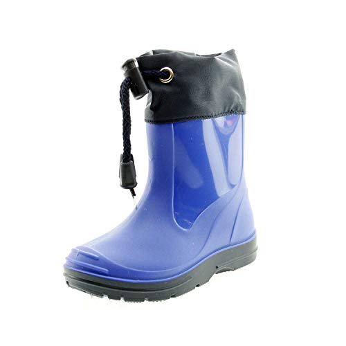 Beck Unisex-Kinder Basic Gummistiefel, Blau (Royalblau 12), 26 EU