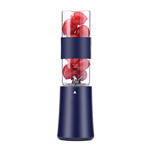 Anabei Juicer Juicer Cup Eléctrico Portátil Hogar Automático Pequeño Mezclador Juicer Juicer Juicer Juicer Cup, Azul