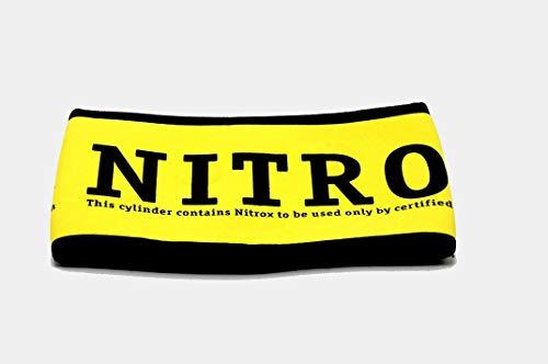 NRC Nitrox Neopren Flaschenüberzug (12 Liter Flasche)