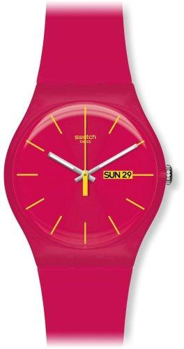 Swatch Mädchen-Armbanduhr Analog Plastik SUOR704