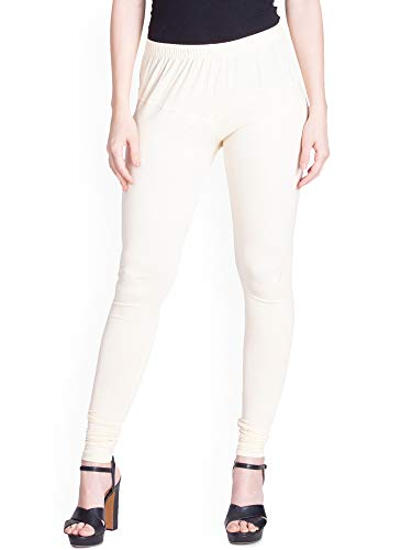 Lux Lyra Women's Leggings Silk_77_Cream_Free Size