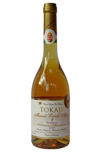 Tokaji Aszu 6 Puttonyos - PAULECZKI-Vin - Jahrgang 2000, Dessertwein aus Ungarn, Weißwein, Süß, Tokajer Aszú