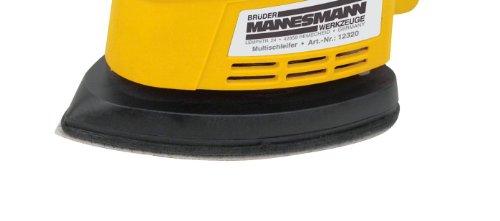 Brüder Mannesmann Werkzeuge M12331 Schleifpapiersatz 10-tlg für Schwingschleifer