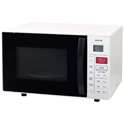 山善(YAMAZEN) オーブンレンジ 16L (重量センサー・温度センサー搭載) ホワイト YRC-161V(W)