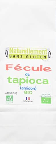 Naturellement Sans Gluten Fécule De Tapioca Bio 250 G - Lot De 6
